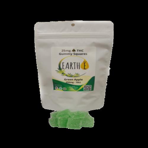 Delta 8 Gummy Squares 25mg | Vegan Friendly
